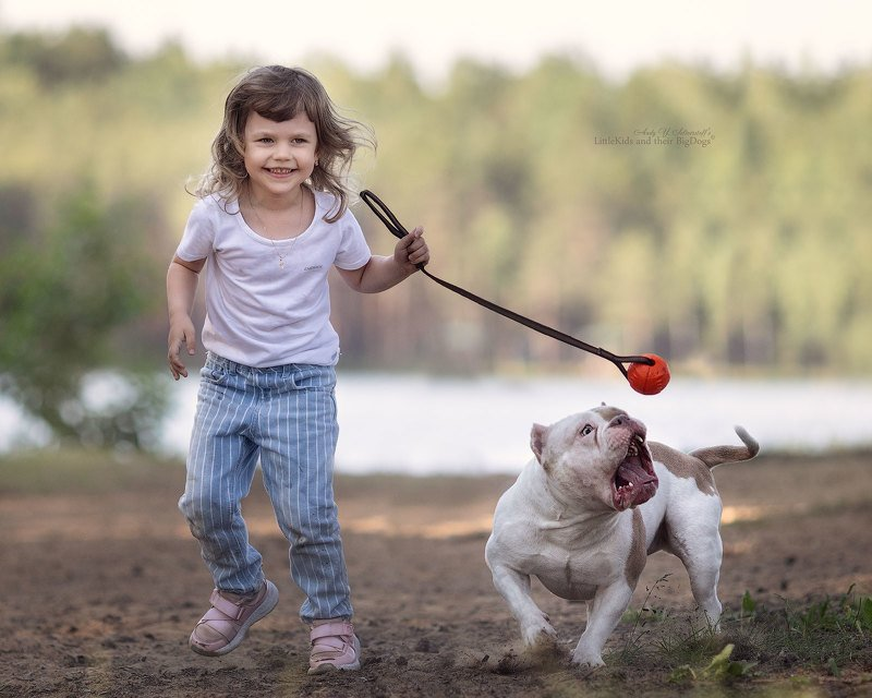 Nadia and her smiling Bundy (American Bullyphoto preview