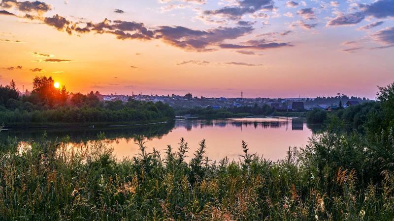 Вечер у рекиphoto preview