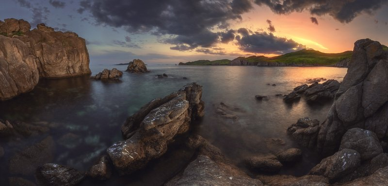 панорама, море, скалы ***photo preview