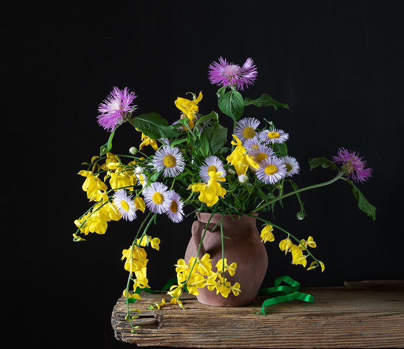 натюрморт, цветы Букетикphoto preview