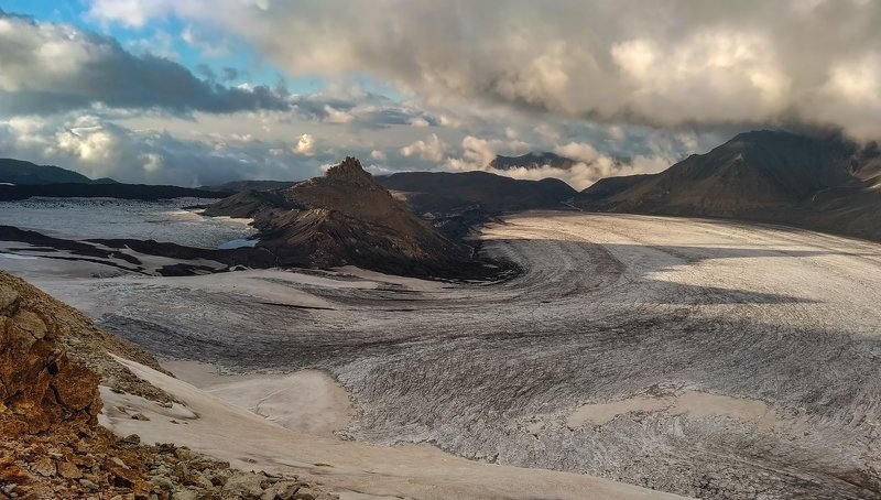 горы, альпинизм, кавказ, ледники ice river...photo preview