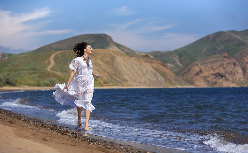крым, девушка, море, гламур Крымcкий воздухphoto preview
