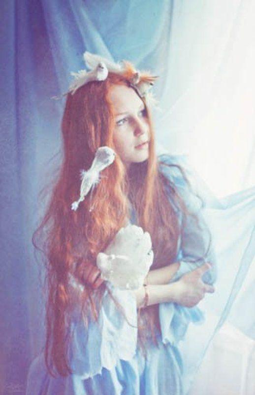 portrait, fairy, flower flowerphoto preview