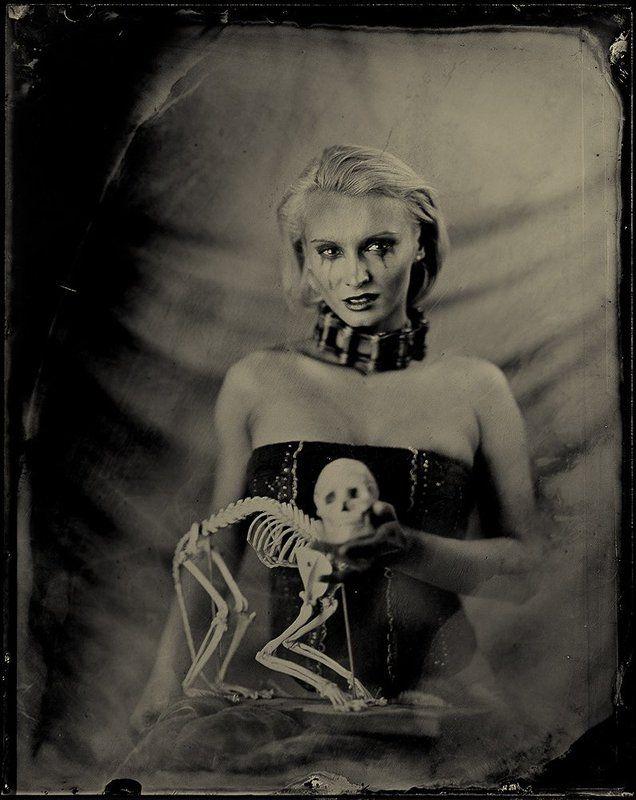 амбротип, ambrotype, портрет, wetplatecollodion, фотоартель смена настроений...photo preview