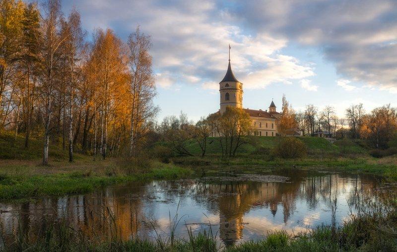 павловск, октябрь, мариенталь Мариенталь. Октябрь.photo preview