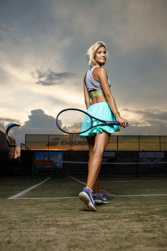 теннис, спорт, девушка Татьянаphoto preview