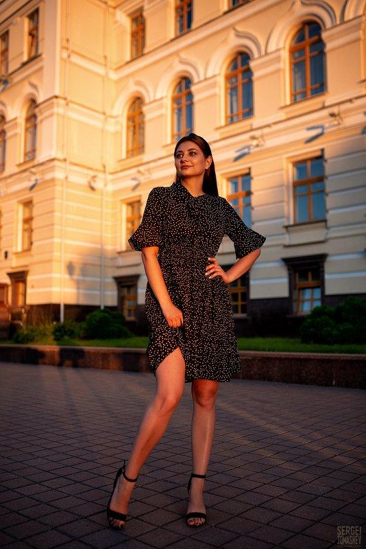 портрет, девушка, модель Кристинаphoto preview