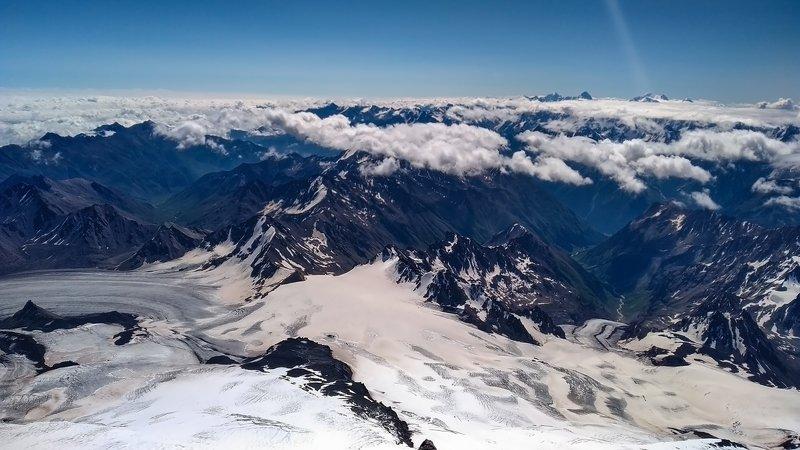 горы,восхождение,кавказ,облака, эльбрус касание небес...photo preview