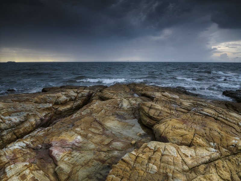 шторм над сиамским заливом. ко саметphoto preview