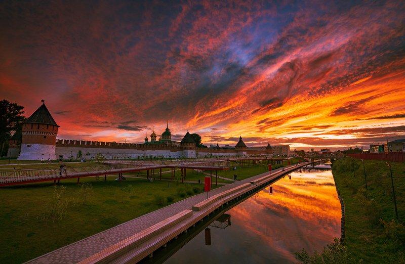Закат над Тульским Кремлемphoto preview