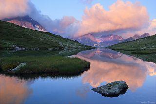 Утро на озере Кувшинки