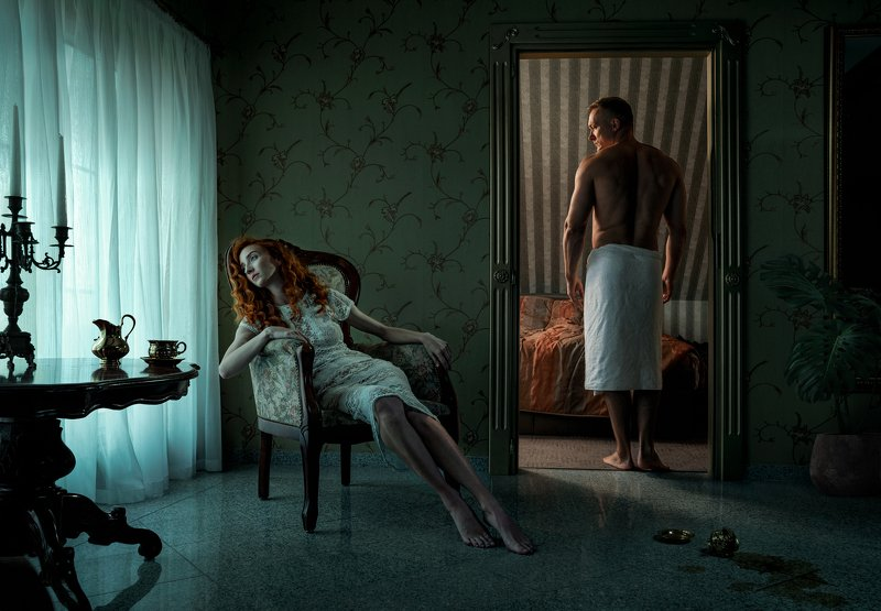 girl,woman,sad,sadness,man,couple,conflict,cinematic,moody,dark,sony,composite Silencephoto preview