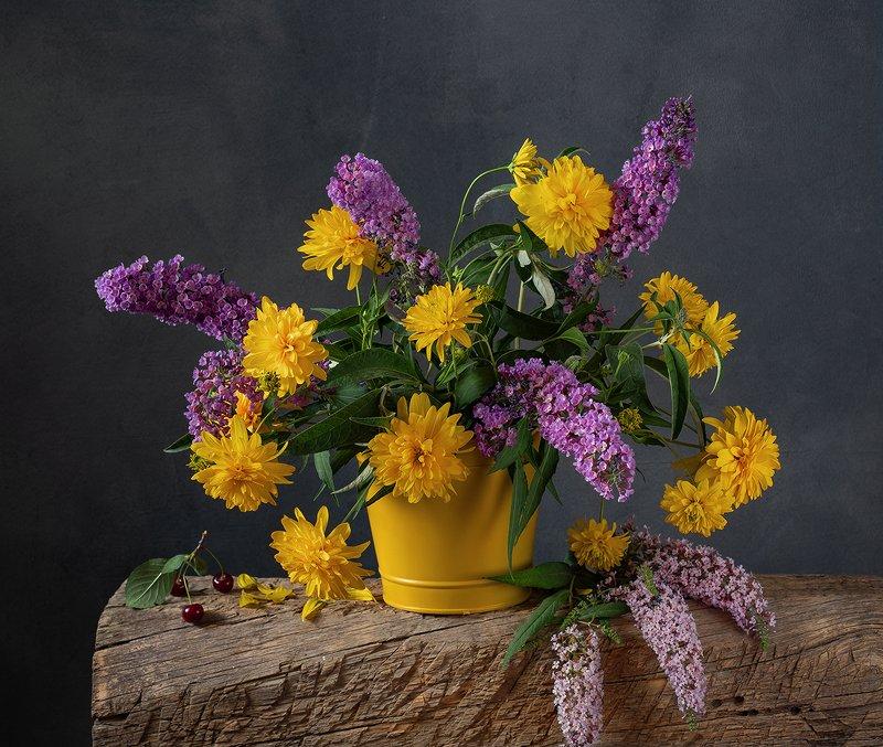 натюрморт, цветы Букетphoto preview
