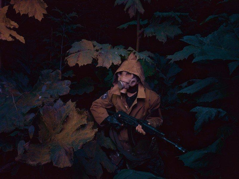 сталкер, борщевик, противогаз Сталкерphoto preview
