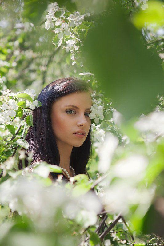 портрет, девушка, весна, portrait, girl, spring Dianaphoto preview