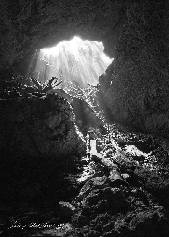 сеноты, мексика, подводная пещера Да будет свет!photo preview