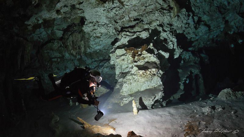 сенота, мексиа, подводная пещера Предостережениеphoto preview
