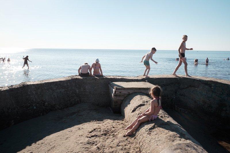 уличная фотография, streetphotography, северодвинск, ягры, пляж, белое море, Ягры в июлеphoto preview