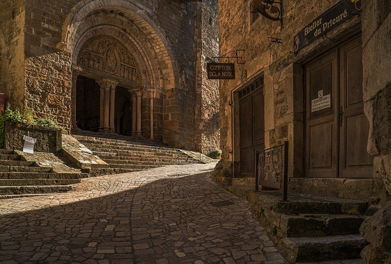 Улочки городка Carennac (Кареннак) , Аквитания, Франция.photo preview