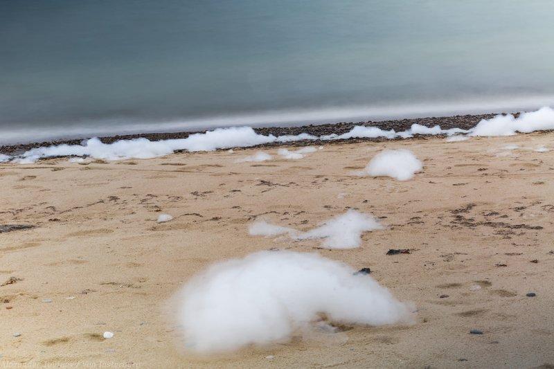 landscape, seascape, sea, baltica, ostsee, kaliningrad, калининград, балтика, пена,  long exposure ***photo preview