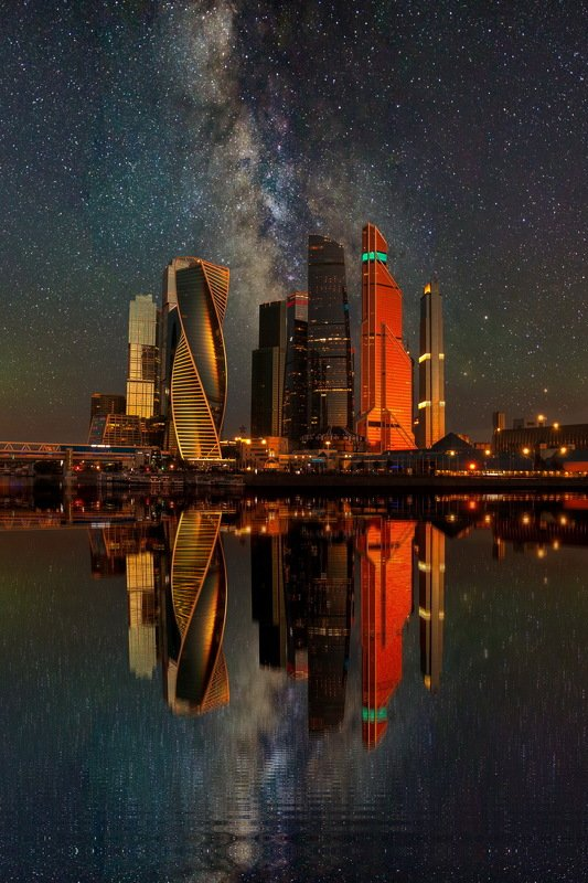 Москва Сити - новый взглядphoto preview