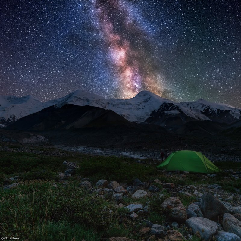 тянь-шань, горы, ночь, баянкол Летняя ночьphoto preview