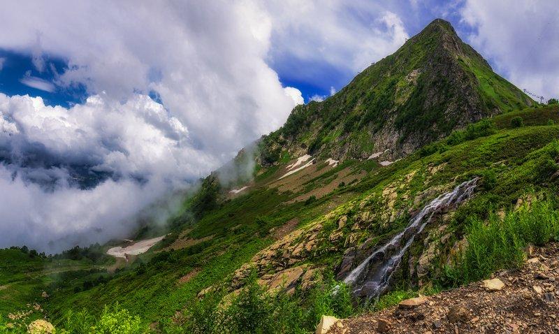 В горах Красной поляныphoto preview