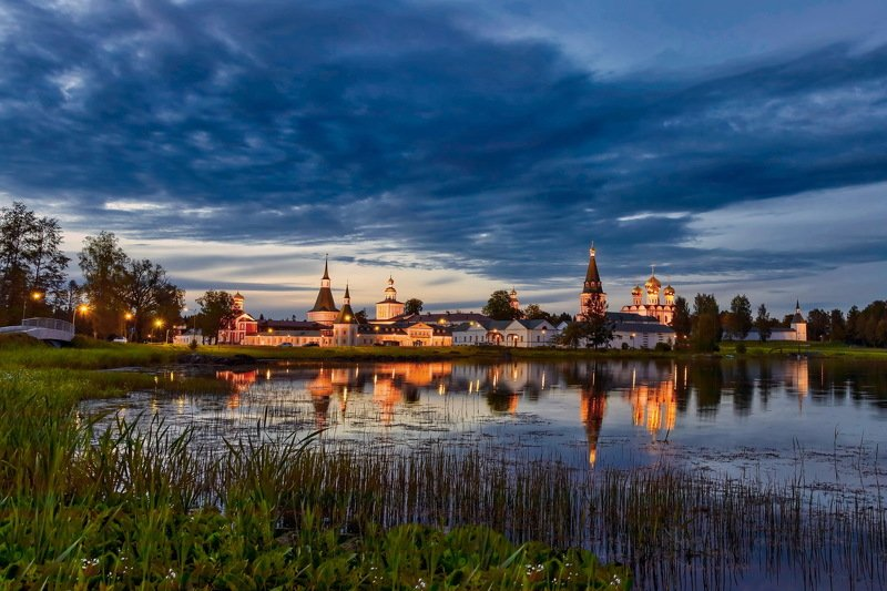 Валдайский Иверский Богородицкий Святоозерский мужской монастырьphoto preview