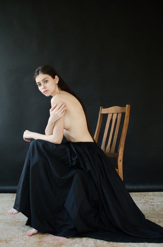 eugenereno, portrait Black&Creamphoto preview