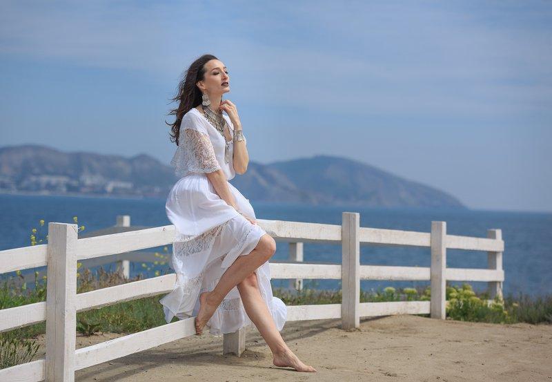 крым, девушка, море, гламур Крымский воздухphoto preview