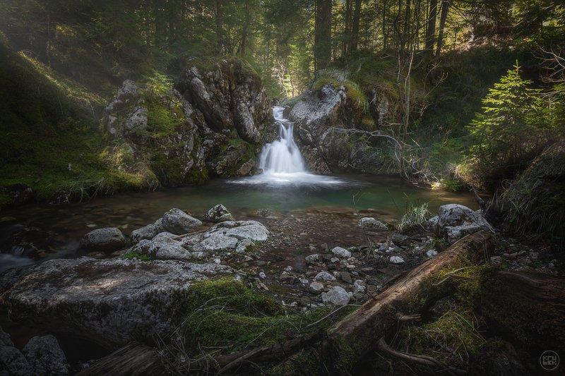черногория, водопад, пейзаж Водопад на реке Млински Потокphoto preview