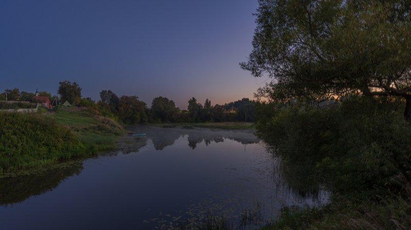 диево, городище Вечерний туманphoto preview