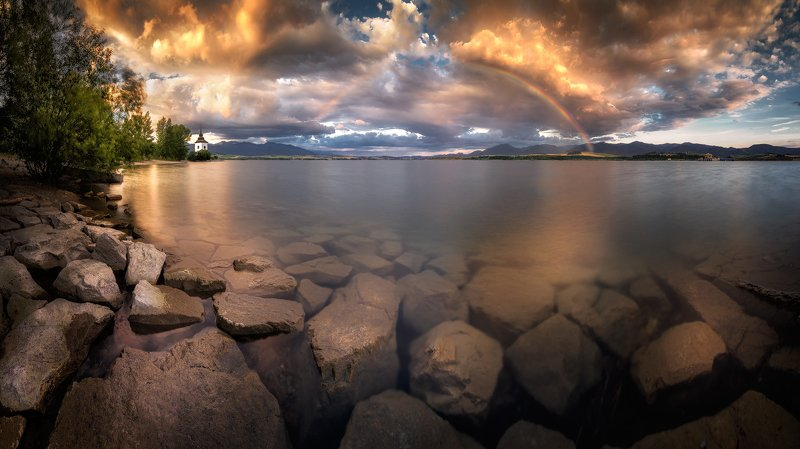 Rainbow in flames фото превью