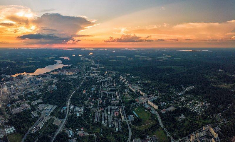 Августовский закат.photo preview