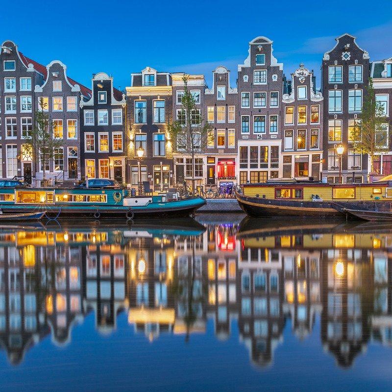 Вечерний Амстердамphoto preview
