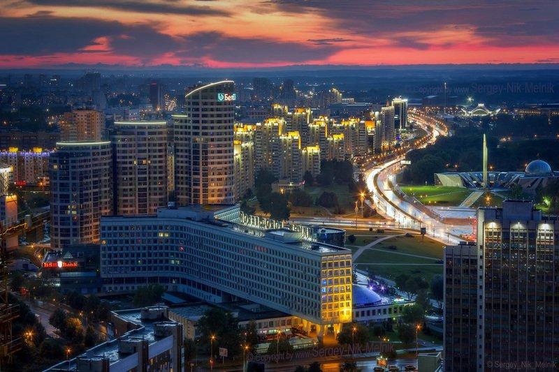 беларусь, город, минск, вечер, фотосфера-минск, фото-минск, интерьерный-фотограф-минск «Золотое окно» Минскаphoto preview