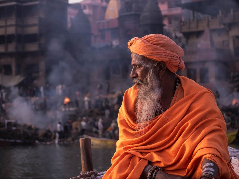 #varansi #india #uttarprades #sadhu #monk #portrait #life #candid The sadhuphoto preview