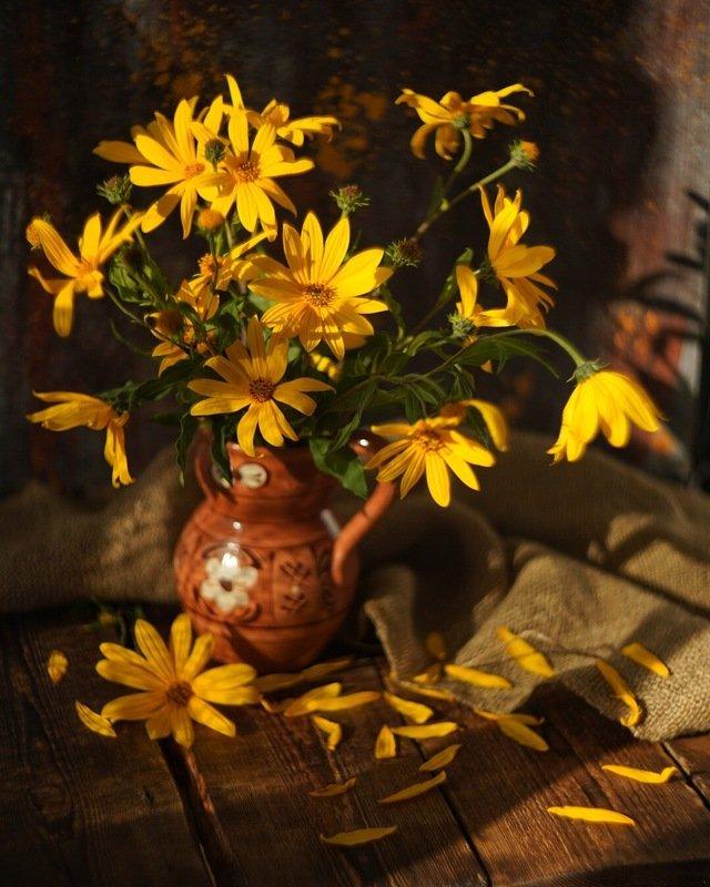 натюрморт осень желтый уют stilllife helios гелиос Осеннее...photo preview
