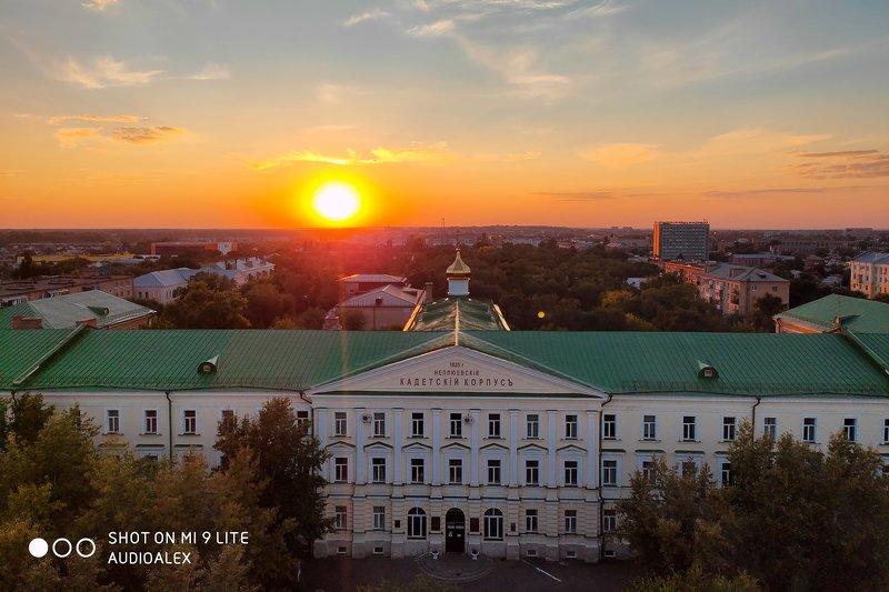 Закат над Оренбургомphoto preview