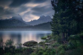 Тихий вечер на озере Светлом