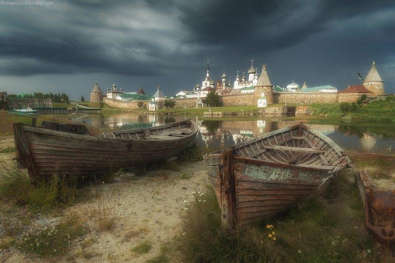 соловки, пейзаж, день, россия Соловецкая классикаphoto preview