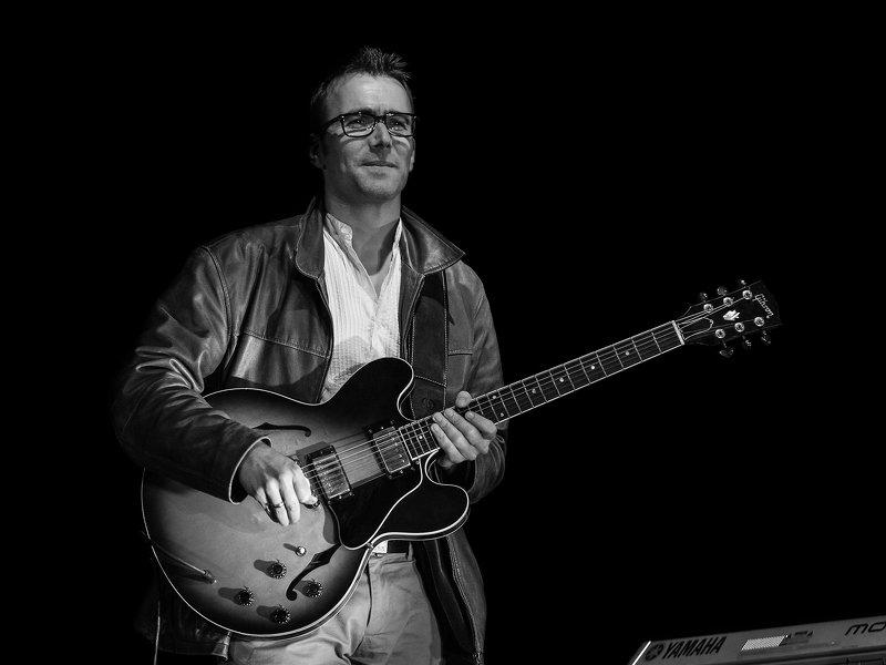 #jazz #guitar #music #portrait  Bruno Muellerphoto preview