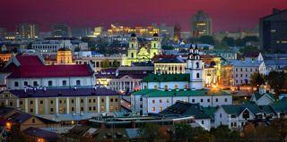 Покрасневший закат над имиджем Беларуси…