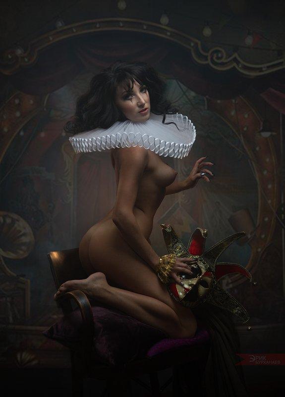 nu, nude, ню Коломбинаphoto preview