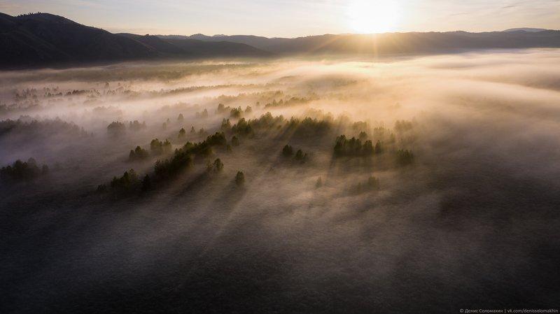 алтайскийкрай, алтай, тигирекскийзаповедник, туман В Гонолулу хорошая погода, а в Тигиреке опять туманphoto preview