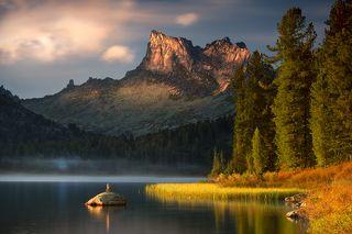 Вечерние пейзажи озера Светлого
