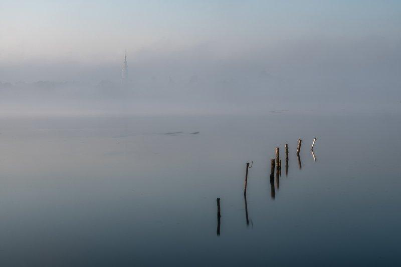 fog,morning,sunrise,landscapes Morning fog in from Tovačovphoto preview