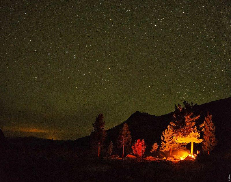 ергаки, ночь, звезды Звездные Ергакиphoto preview