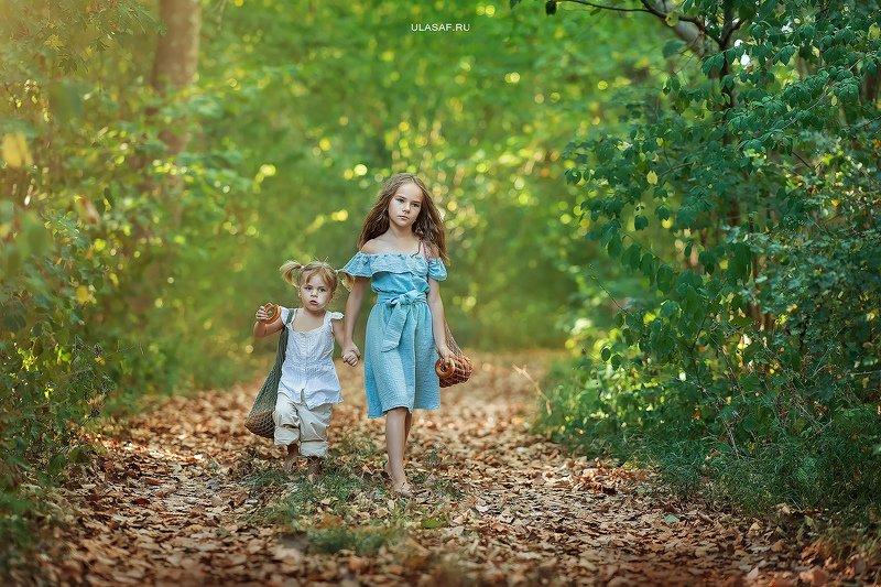 лето, summer, дорога, портрет, ребенок, дети, сестры, хлеб, people, 105mm, kid, children, beautiful, magik, волшебство ***photo preview