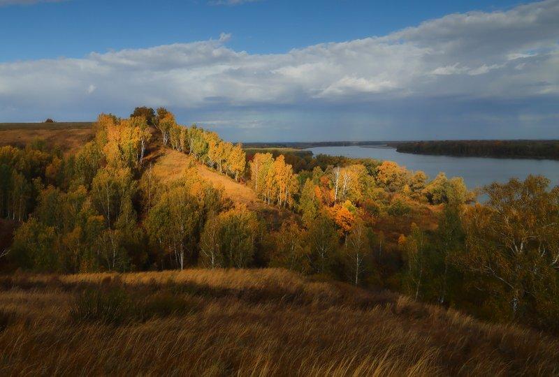 Осень на берегу Обиphoto preview
